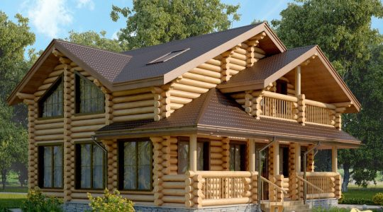 wooden house architecture